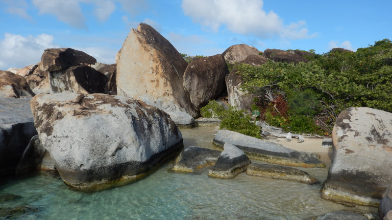 bvi baths narodni park
